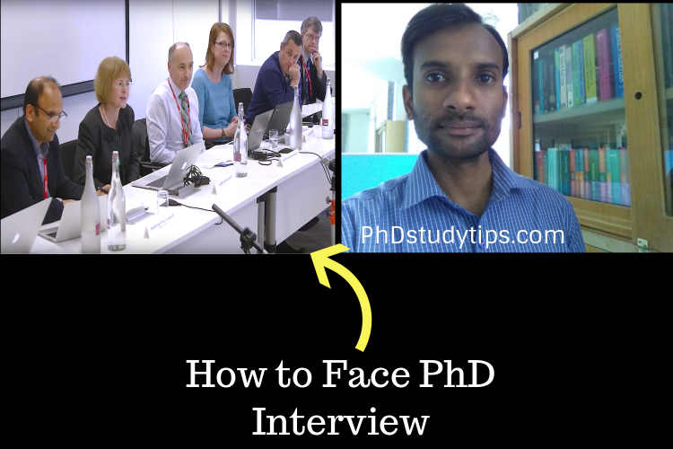 14 preparatory tips to face a PhD Interview Questions