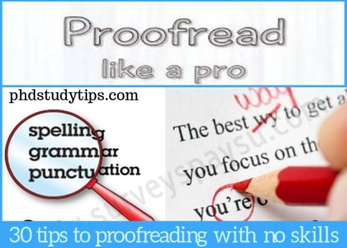 9 Smart Tips to Proofread PhD Dissertation and Thesis