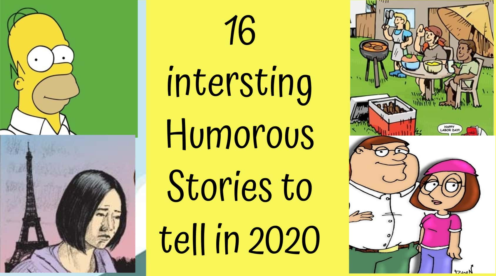 humorous short stories with moral, Language Skills Abroad
