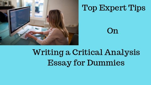 write critical analysis essay